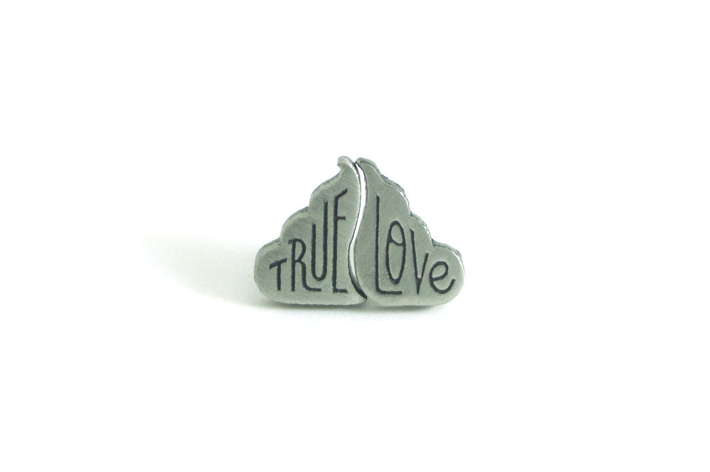 Pin True Love Silver