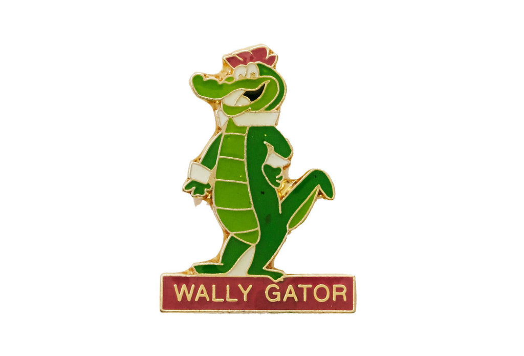 Vintage Wally Gator Pin