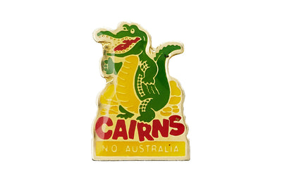 Vintage Cairns Crocodile Pin