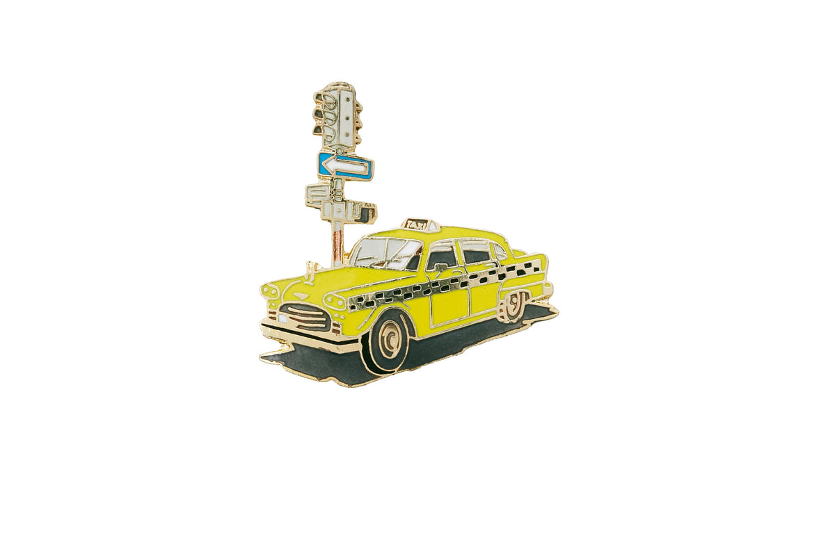 Vintage Taxi Pin
