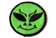 Vintage Alien Circle Patch