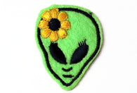 Vintage Alien Flower Patch