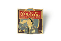 Vintage Coke Ad 1907 Pin