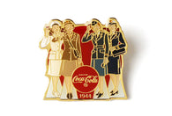 Vintage Coke Ad 1944 Pin