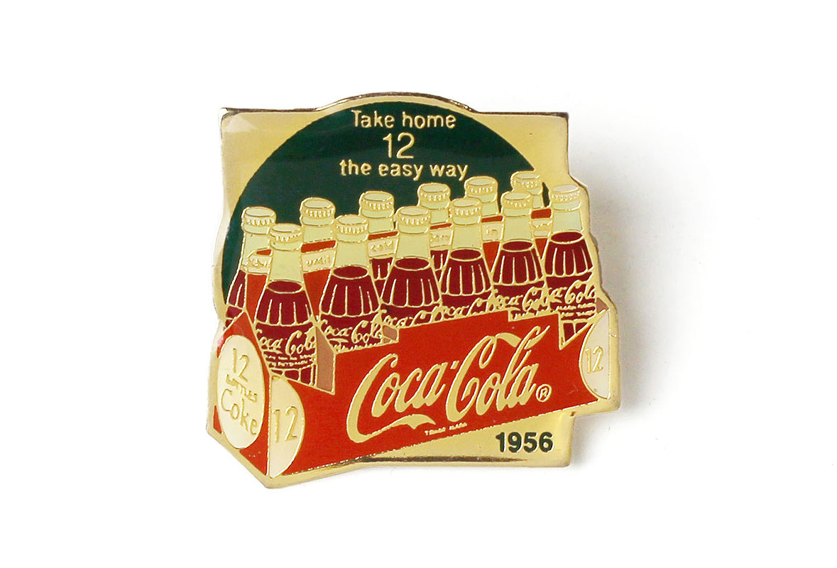 Vintage Coke Ad 1956 Pin