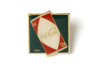Vintage Coke Ad 1961 Pin
