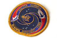Vintage NASA Voss Gold Patch