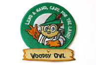 Vintage Woodsy Hand Patch