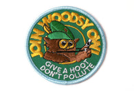 Vintage Woodsy Hoot Patch