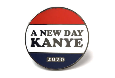 A New Day Kanye Pin