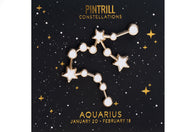 Constellations - Aquarius Pin