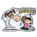 Peanuts - Football Gag Pin