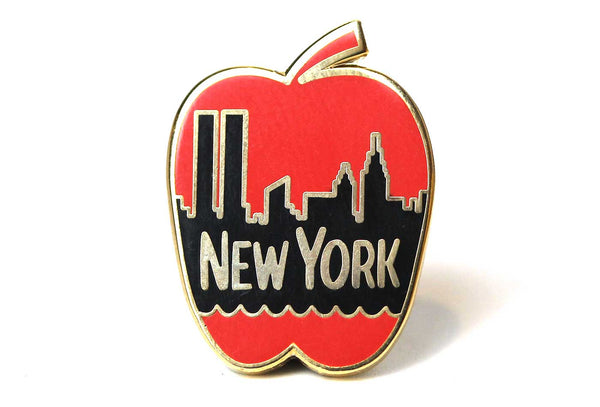 Baron Von Fancy - New York Apple Pin