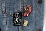Jean-Michel Basquiat - Melting Point of Ice: Pin Set and Art Card