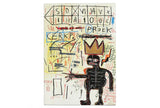 Jean-Michel Basquiat - With Strings Two: Pin Set and Art Card
