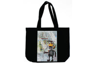Jean-Michel Basquiat - With Strings Two: Pin Set and Tote Bag