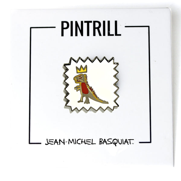 Jean-Michel Basquiat - Crowned T-Rex