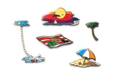 Beach Pin Pack