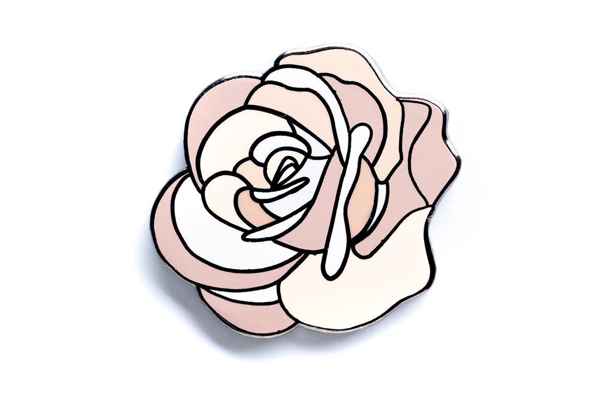 Careaux - Bouquet Rose Pin - Beige