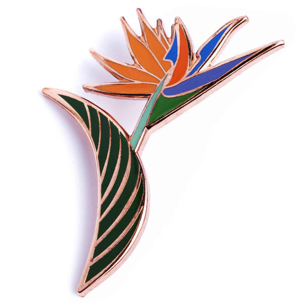 Flower Series - Bird of Paradise Pin