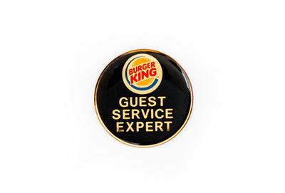 Vintage Burger King Pin 2