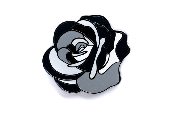 Careaux - Bouquet Rose Pin - Black