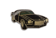 Vintage Black Muscle Car Pin