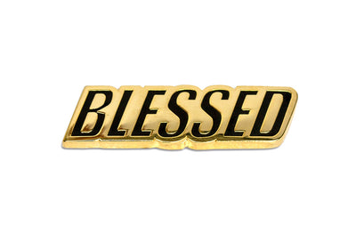 24K Blessed Pin
