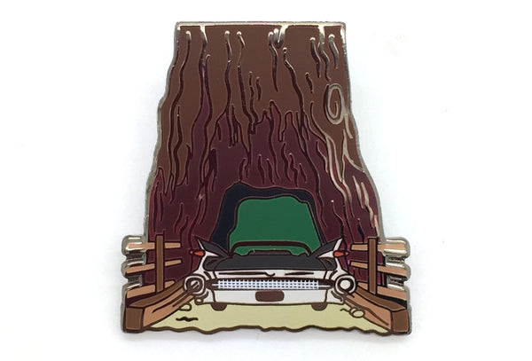 Cadillac Trill Trip Redwood Pin