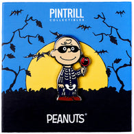 Peanuts - Charlie Brown Skeleton Pin