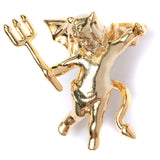 Devil Cherub Pin