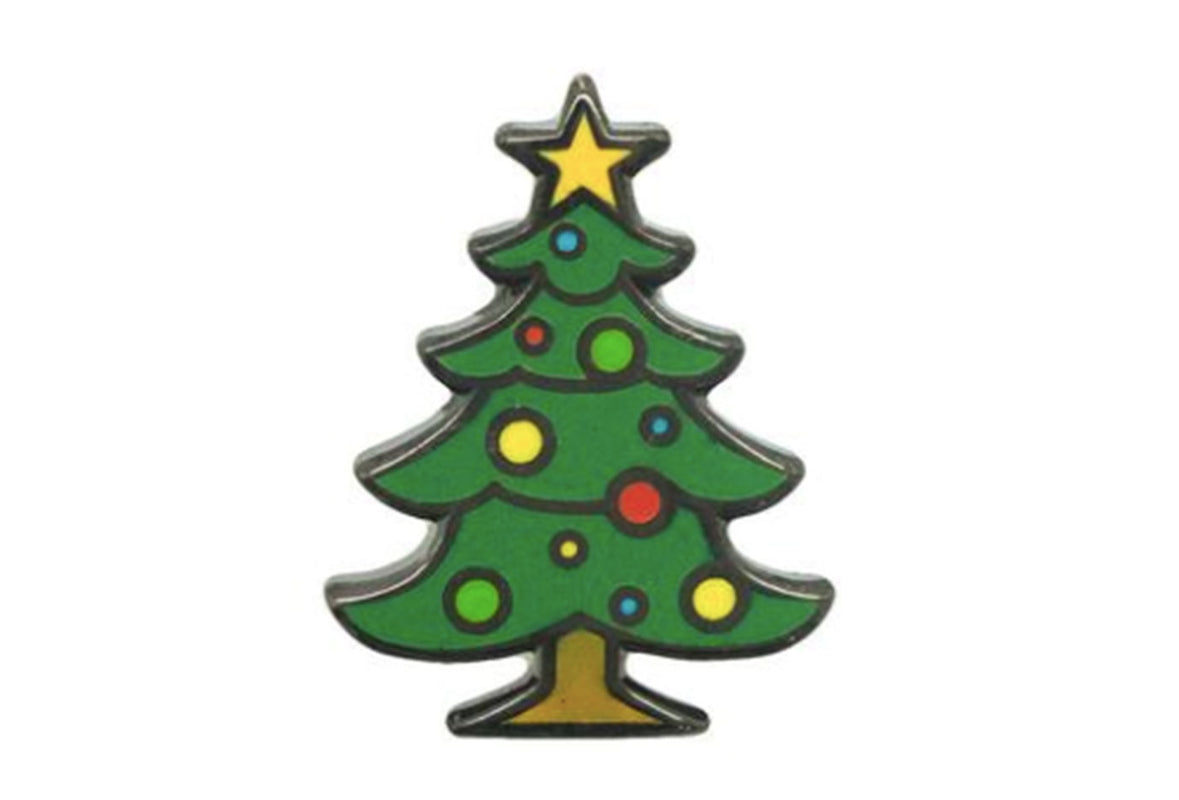 Christmas Tree Pin 2017