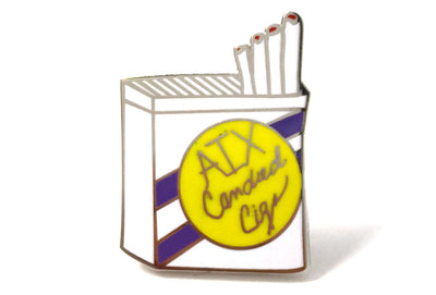 Cigarette Pack Pin
