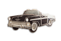 Vintage Black Classic Car Pin
