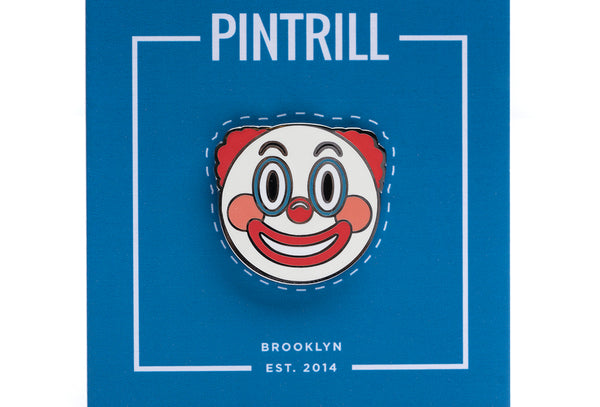 Clown Face Emoji Pin