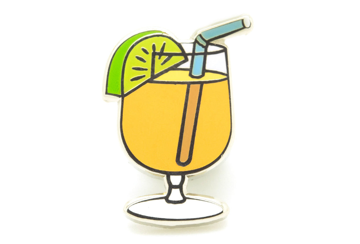 Cocktail Drink Pin