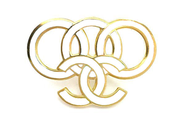 Coco Rings Pin - White