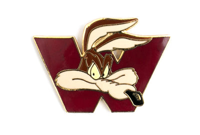 Vintage Wile E. Coyote W Pin