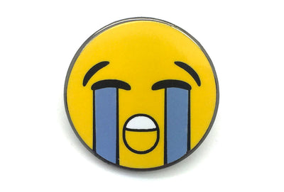 Crying Face Pin
