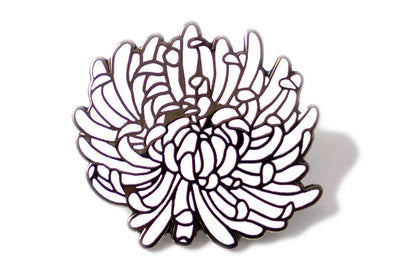 Sophia Chang Dahlia Flower Pin