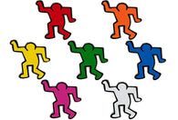 Keith Haring - Dancing Man Pin