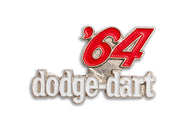 Vintage Dodge Dart 64 Pin