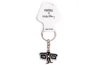 Keith Haring - Black Bat Demon Keychain