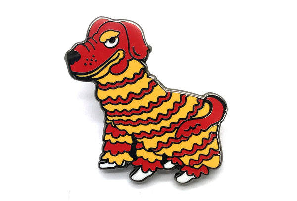 Year Of The Dog Lion Dance Pin