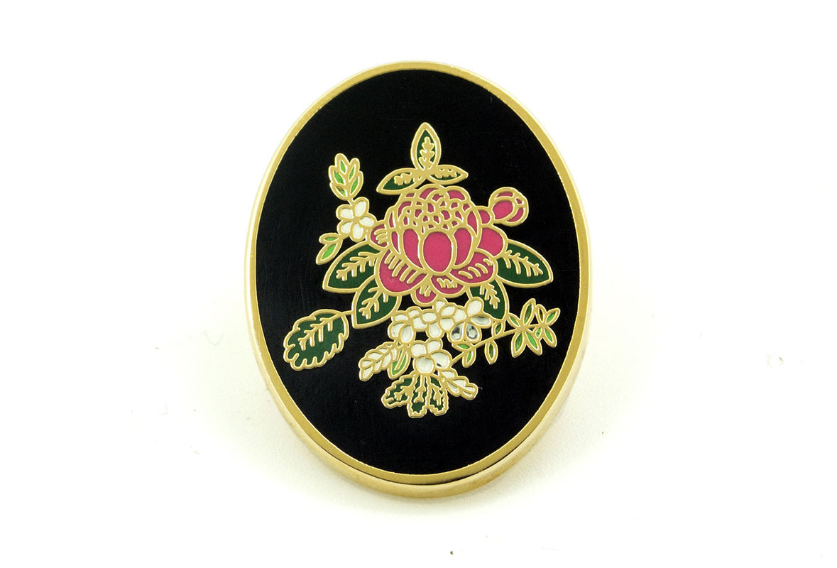 Donovan's Flower Pin