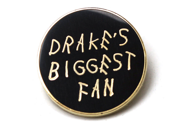 October's Biggest Fan Pin