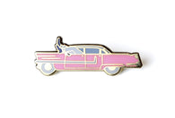 Elvis Presley - Pink Car Pin