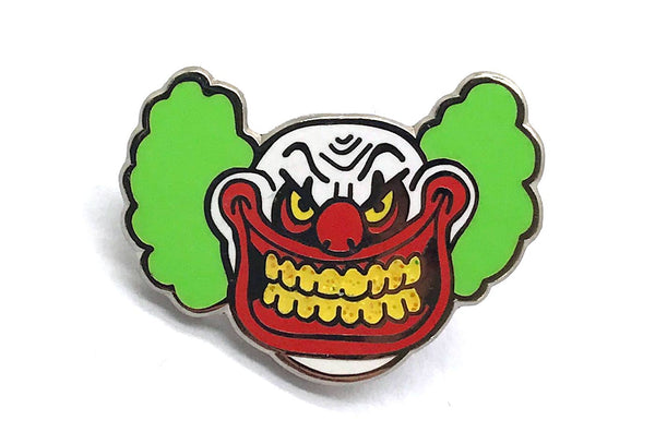 Creepy Clown Pin