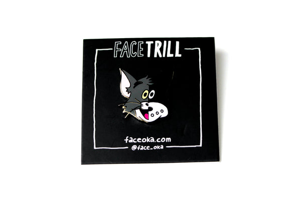 FACE - Cat Pin