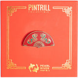 Pearl River - Folding Fan Pin